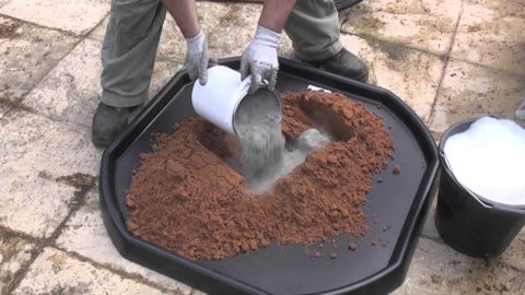 Самостоятельный замес бетона
