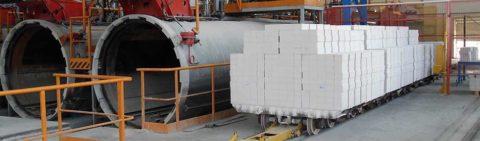 Силикатные изделия из пористых бетонов