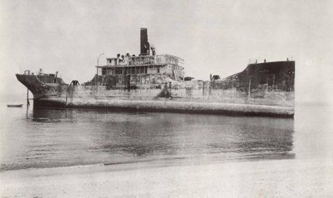 SS Atlantus, порт Вирджиния, 1926 год