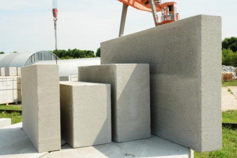 Стеновые блоки из фибропенобетона