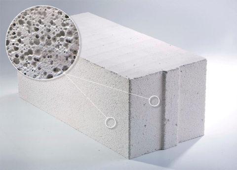 Структура легких силикатных бетонов