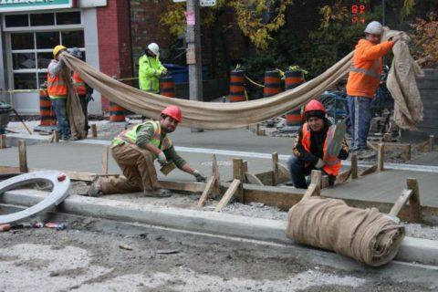 Уход за бетоном в условиях жаркого климата