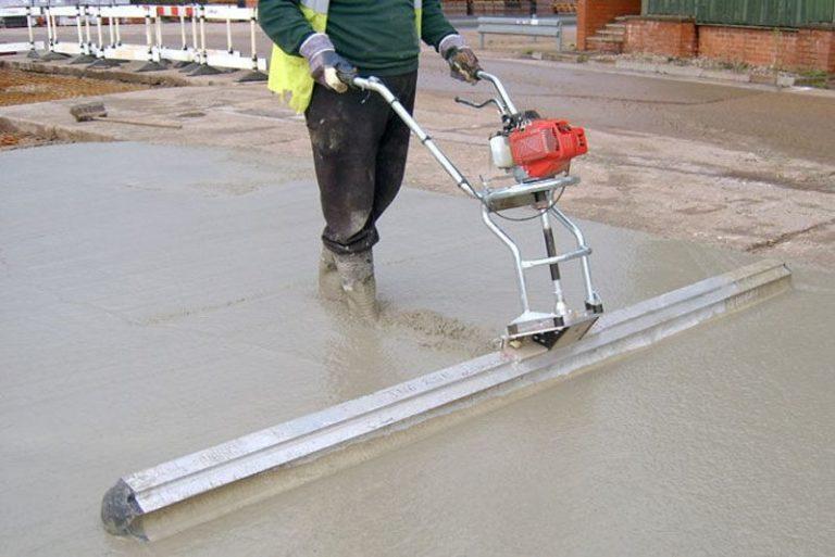 Трамбовка бетона своими руками