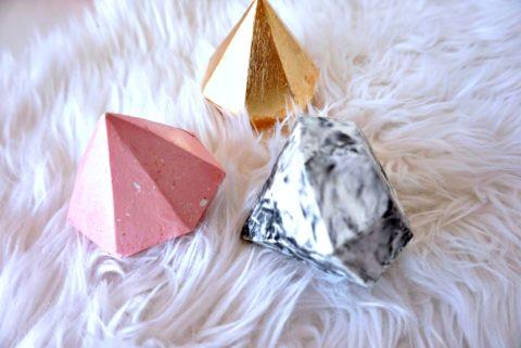 Алмазы из декоративного бетона