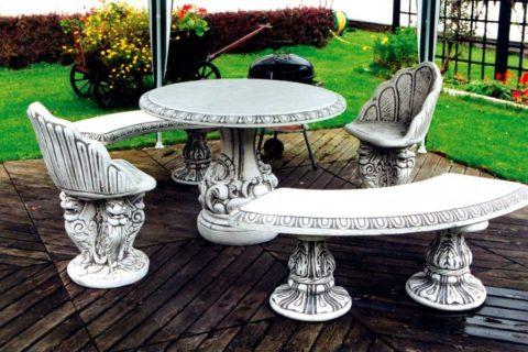 Декоративные изделия из стеклофибробетона