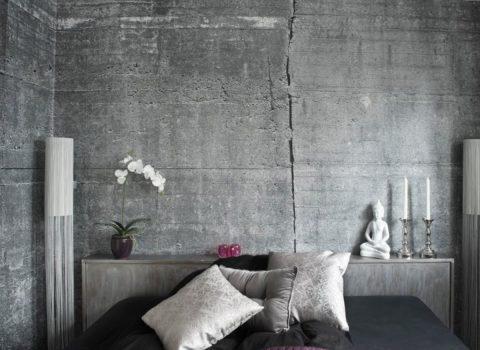 Декоративный бетон – интересный и неординарный способ интерьерного решения