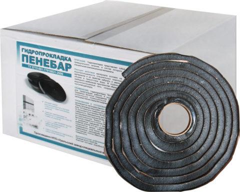 Гидрофобный шнур для качественного соединения дна и стенок бассейна