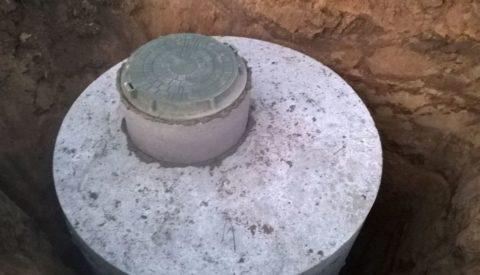 Кольцо бетонное под люк