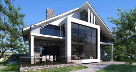 Красивый дом может быть и дешевым