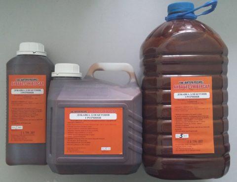 Модифицирующие добавки в бетон