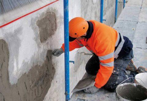 Не конструкционный ремонт бетона