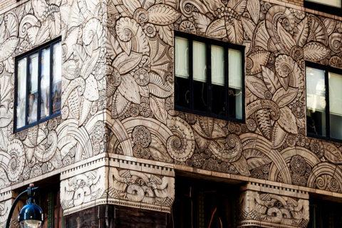 Отделка фасада здания СФБ-панелями - это не только очень красиво, но экологично и абсолютно пожаробезопасно