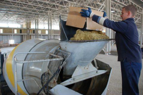 Процесс производства стеклофибробетона