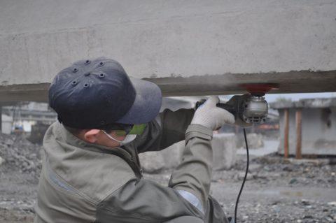 Ремонт бетона при низких температурах