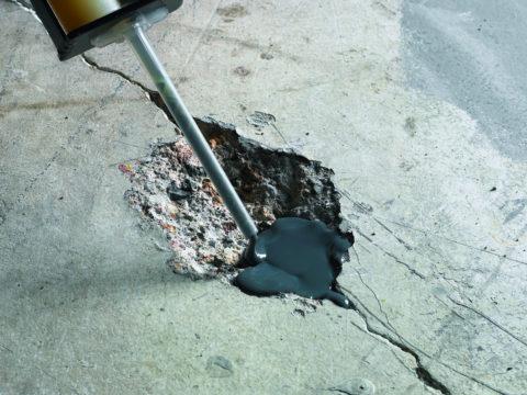 Ремонт бетонного бассейна своими руками с использованием эпоксидной смолы