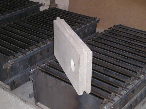 Самодельные металлические формы для пазогребневых блоков