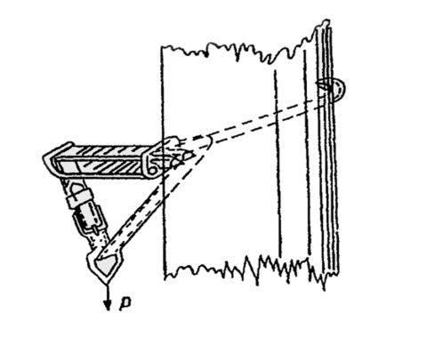 Схема испытаний статической нагрузкой