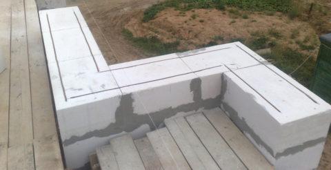 Строительство ведется в один блок