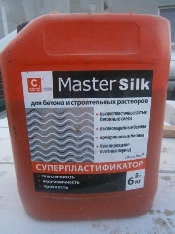 Суперпластификатор Master Silk