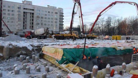 Утепление бетона в зимний период