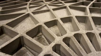 Самонесущая конструкция изультратонкого бетона