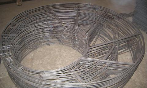 Армокаркас для бетонных колец