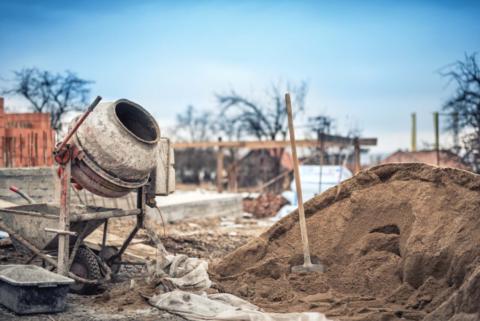 «бетонный уголок», который есть накаждой строительной площадке