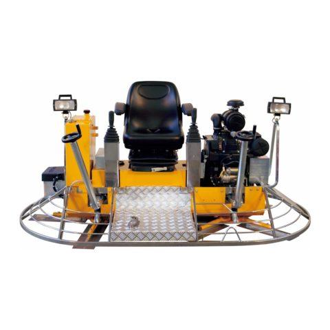 Бетоноотделочная двухроторная машина