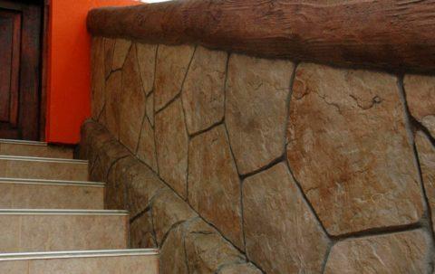 Декоративное оформление цоколя здания