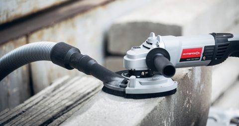 Для шлифовки бетона нужен специальный инструмент