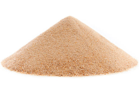 Для затворения бетона требуется чистый просеянный песок