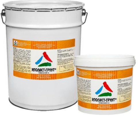 Двухкомпонентный эпоксидный грунт для бетонных полов