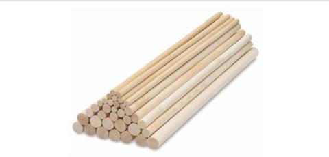 Дюбеля деревянные универсальные