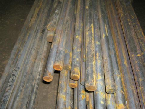 Эталонные стержни можно изготовить самостоятельно из прутка соответствующего диаметра и марки стали