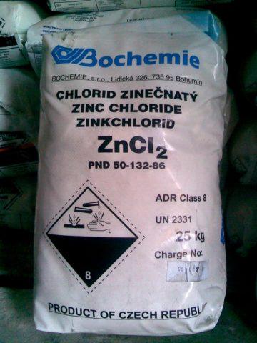 Хлорид цинка