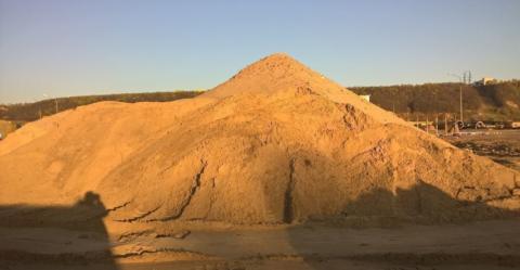 Хранение песка навалом