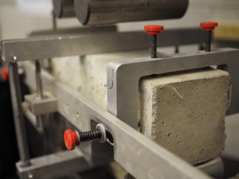 Испытание бетонного образца