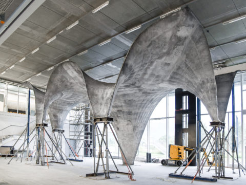 Изящная конструкция изоблегченного бетона