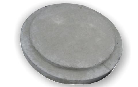 Крышка люка бетонная