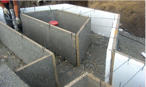 Опалубка для монолитного пенобетонаизЦСП плит