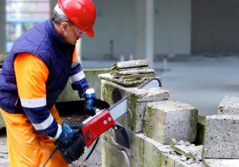 Пила для резки бетона