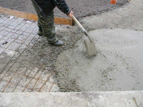 Подвижный бетон