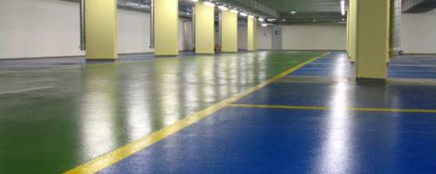 Покрашенный бетонный пол – практичное и бюджетное решение