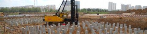 При правильном расчете, свайный фундамент является наиболее прочной основой под капитальное строительство
