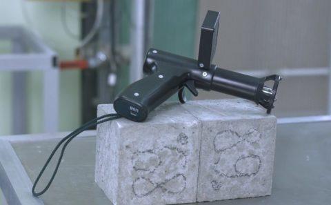 Прибор для измерения прочности бетона методом ударного импульса