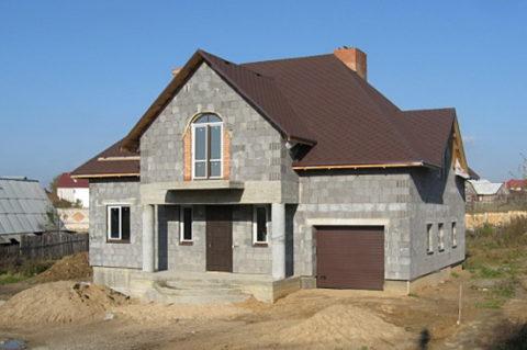 Строительство малоэтажное, возведение перегородок.