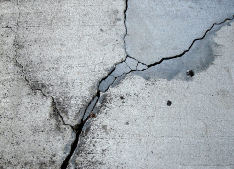 Виды разрушения поверхности