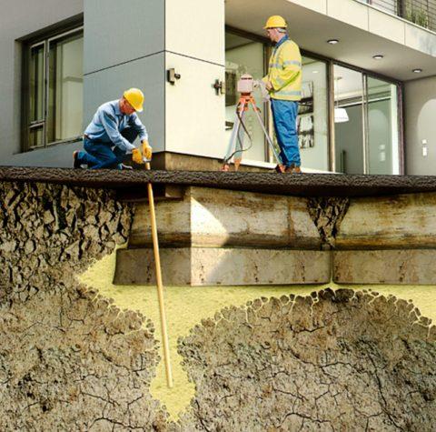 Восстановление фундаментов