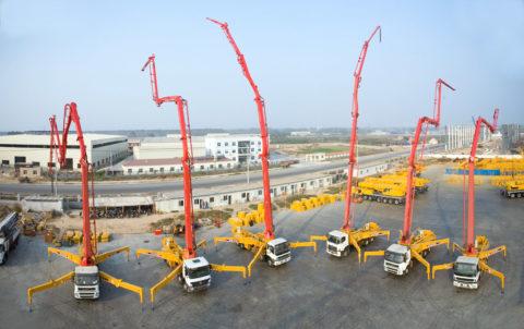Автоматизированные установки для приема иподачи бетона