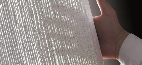 Белый светопрозрачный бетон